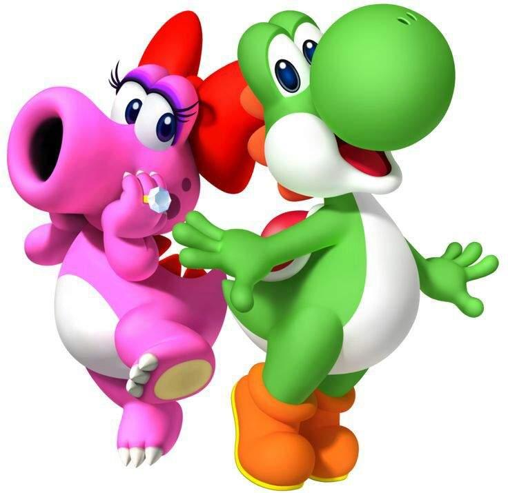 Birdo and Yoshi